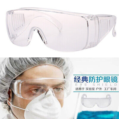 Transparent PC Goggles Eyes Shield Protective Glasses Anti Infection Splash