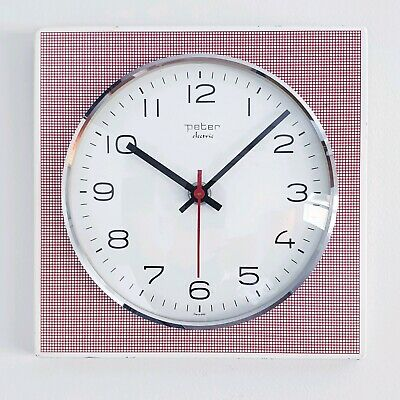 Mid century retro kitchen clock made by Peter of Germany