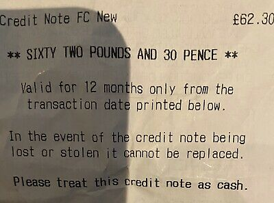 French Connection Store Credit Note(can Be Used In In Any Store On Any item)