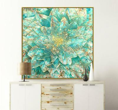 """HH032# Modern abstract oil painting Hand-painted Canvas FLOWER No Frame 24""""x24"""""""