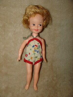 Cute Vintage Deluxe Reading Corp. PENNY BRIGHT Doll in Original bathing suit