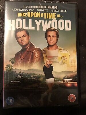 Once Upon a Time In... Hollywood [DVD] New And Sealed