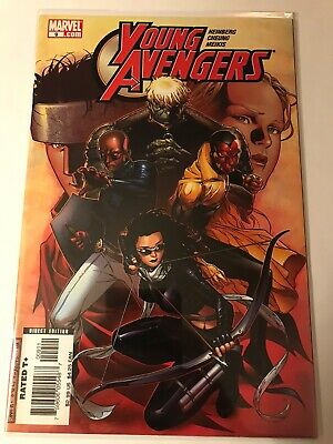 Young Avengers #7 VF 2005 Stock Image