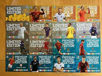 Panini Adrenalyn XL Euro 2020 Limited Edition cards