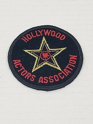 Iron on Hollywood Actors Association Patch California
