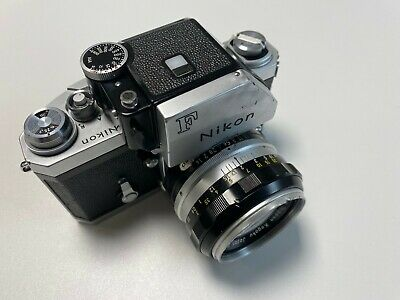 Nikon F Photomic 35mm SLR Film Camera (free 50mm f/1.4 Nikkor)