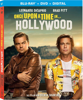 *Brand New* Once Upon a Time in Hollywood 2019 (Bluray+DVD+Digital) NO SlipCover