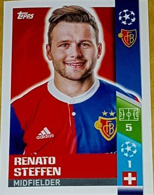Champions League 17//18 FC Basel 1893 Renato Steffen Sticker 397
