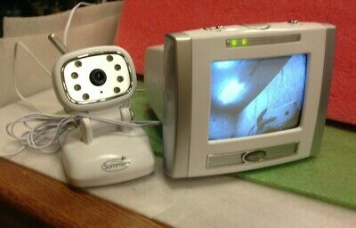 Summer Infant & Baby Monitor System, Model 222,  w/ Camera & Video Monitor  *32