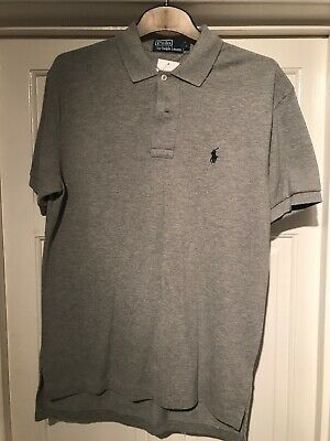 polo by ralph lauren polo shirt mens Size S In Grey BNWT