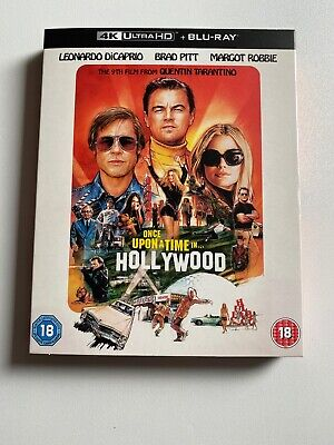 Once Upon A Time In Hollywood 4k Blu Ray Inc Slip Cover