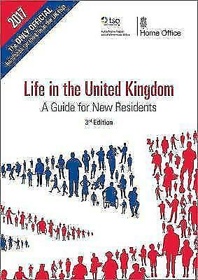 Life in the UK test official handbook 3rd edition citizenship book 2019 - LF