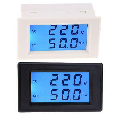 BW#A LCD Digital Dual Display AC80-300V Voltmeter 45.0-65.0Hz Frequency Meter