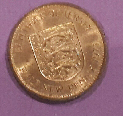 Balliwick of Jersey  - 1971 - Half New Pence  COIN  - COIN HUNT