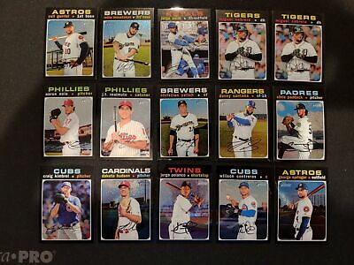 2020 Topps HERITAGE CHROME /999 You Pick From List $0.99 MAX SHIP