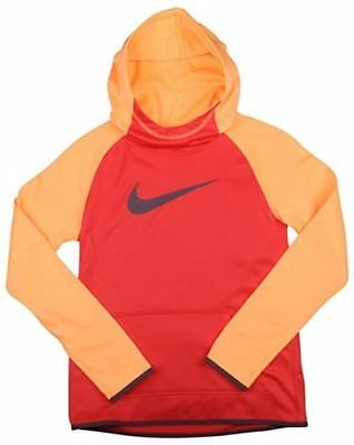 Nike GIRLS Therma Fit Big Logo Swoosh Hoodie Save 40% Small Large