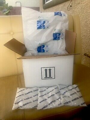 13x10x10 Kodiakotton Natural Thermo Lined Insulated Shipping Box 3 Ice Gel Packs