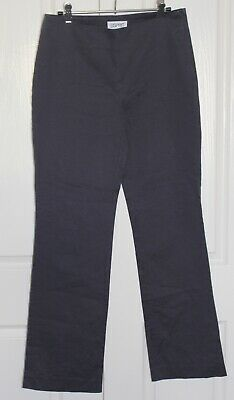 Esprit Chino Smart Pants In New Condition Dark Grey Size 12.RRP $99