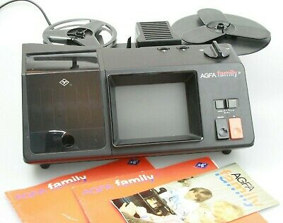 Boxd AGFA FAMILY Super-8 Cine Movie FILM CAMERA & PROJECTOR complete Not Perfect