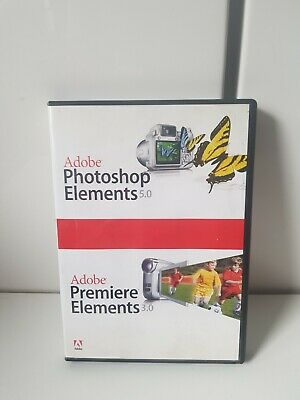 ADOBE PREMIERE ELEMENTS 3.0 /Adobe  photoshop elements 5.0