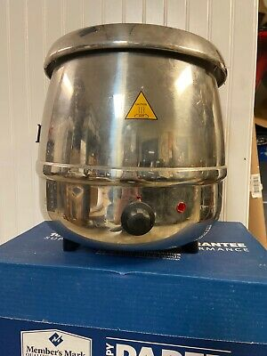 SOUP KETTLE COMMERCIAL GRADE Glenray Stainless 400W 10.5 Quart Electric  Warmer