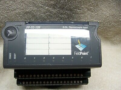 National Instruments FieldPoint FP-TC-120 8-ch Thermocouple Input with FP-TB-1