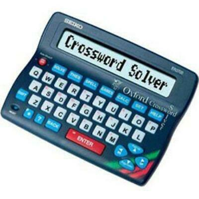 Seiko Oxford Crossword Solver Spellchecker ER3700 New Uk