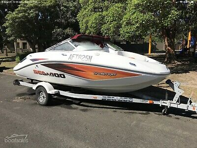 Sea Doo Challenger 180 (8 Seater) Jet Boat (Firm price)