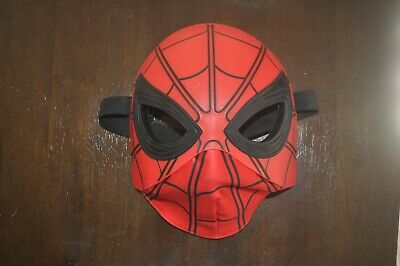 Marvel Spider-Man Homecoming Flip Up Mask Red Black Plastic & Fabric One Size