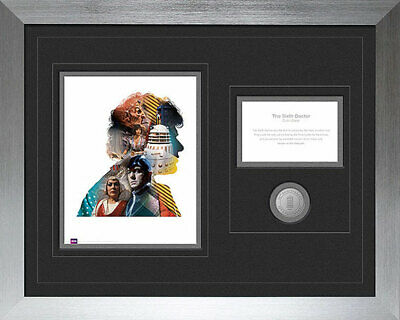 Doctor Who 50th Anniversary 6th/Sixth Dr Colin Baker Limited Edition Print RARE!