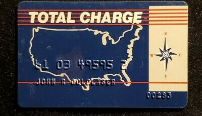 Total Charge Credit Card♡free shipping♡cc1127♡