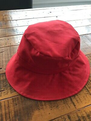 FOUL WEATHER HAT SIZE MEDIUM RUBBERIZED SOUTH WESTERN STYLE RAIN