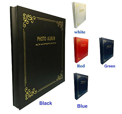 Premium Large Self Adhesive Photo Album Hold Various Sized Picture Up to A4