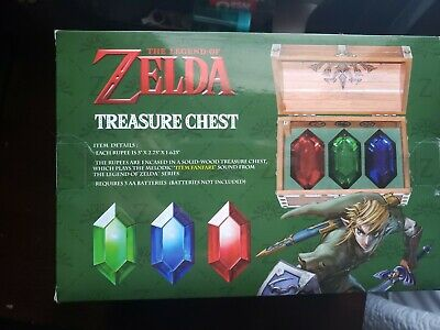 The Legend of Zelda Rupee Chest Replica - Officially Licensed