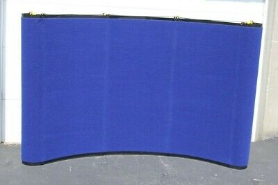 Skyline Mirage Pop-up Trade Show Display - Blue - Lights - Shipping Container