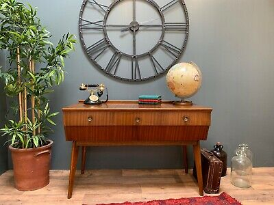 Mid Century Retro Vintage Dressing Table / Sideboard, Alfred Cox Style