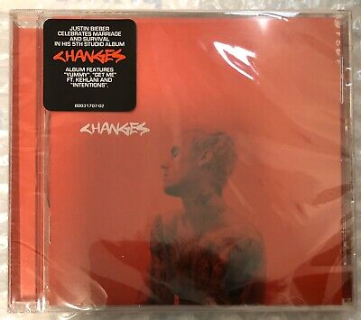 Justin Bieber - Changes (Brand New CD)
