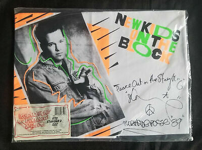 DEADSTOCK NEW KIDS ON THE BLOCK DONNIE Pillow Case Original Package NKOTB