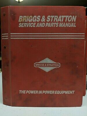 1994 Briggs & Stratton Service Parts Manuals 4, 2 & Twin Cycle, OHV Engines