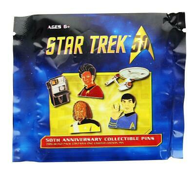 Star Trek Blind Packed Collectible Lapel Pin, Lot of 3