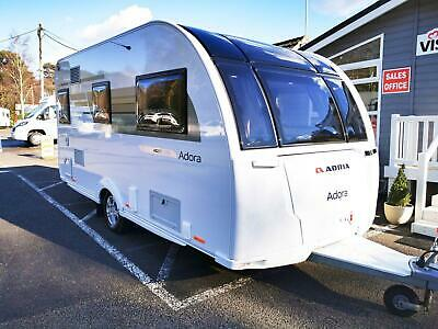 ADRIA ADORA 612 DT 2009 HEAVY DUTY CARAVAN COVER GREEN 4PLY