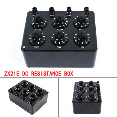 ZX21E High Precision Variable Decade Resistor DC Resistance Box 0~11.11110MΩ