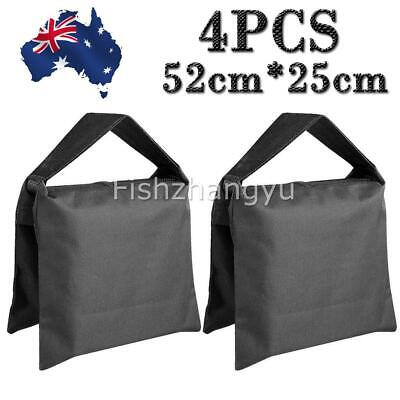 4PCS Sand Bag Photographic Sandbag for Photo Video Film Light Stand Tripod AU