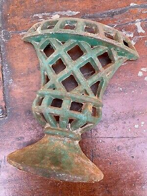 A Lovely Vintage French Door Stop In The Form Of A Classical Urn / Planter