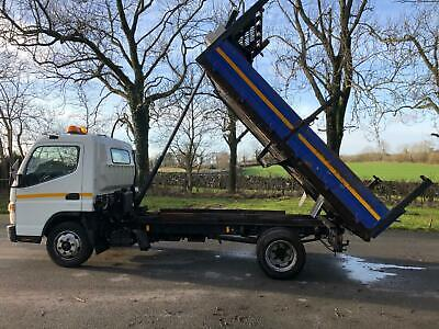 2013 7.5T Mitsubishi Canter Tipper, 1 Owner, Fsh, Low Miles, Insulated, Chutes