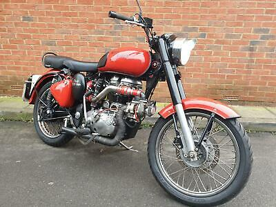 Royal Enfield Classic 500 TURBO - 800- miles! One-Off Special