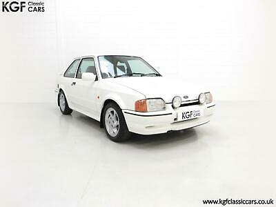 A Stunning 90 Spec Ford Escort RS Turbo with 43,996 Miles from New
