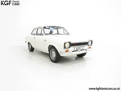 An AVO Club Registered and National Day Winning Mk1 Ford Escort Twin Cam