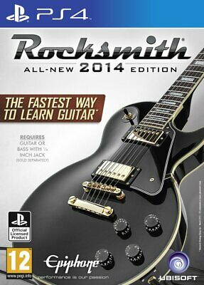 Rocksmith 2014 Edition with Real Tone Cable | PlayStation 4 PS4 New