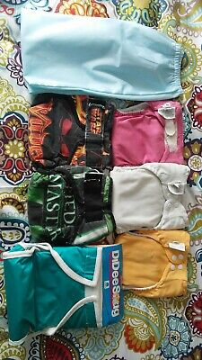 Medium All In One Cloth Diaper Lot WAHM Bumgenius Star Wars
